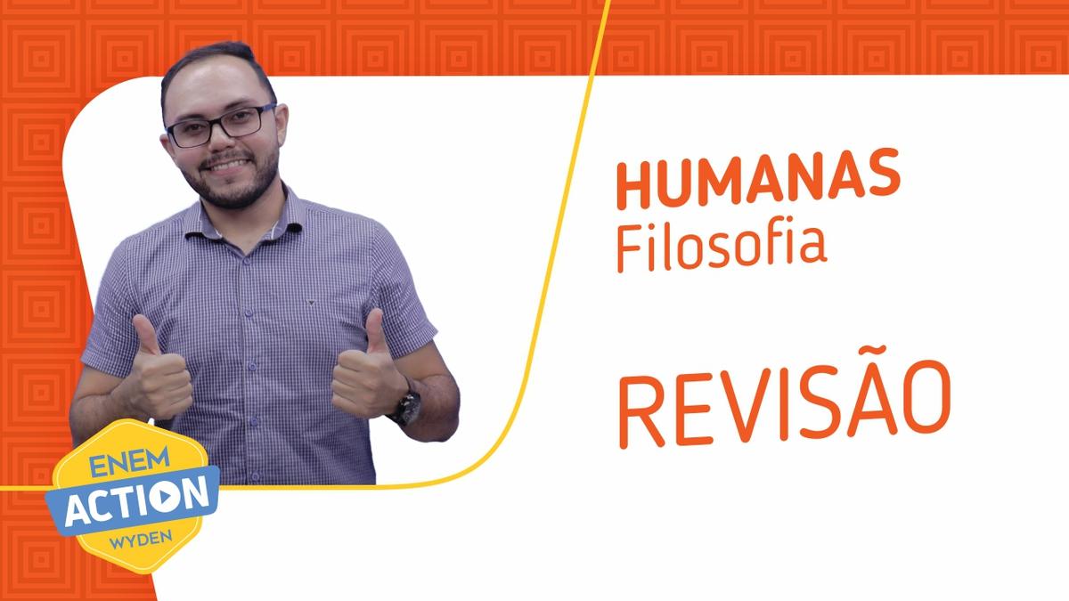 Filosofia: Revisão